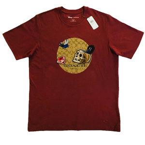 COACH Dark Disney Logo T Shirt F68809